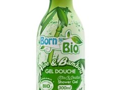 Gel de dus bio Bambus, 300ml, Born to Bio
